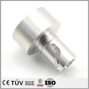 アルミ製品光沢アルマイト 高品質旋盤加工部品