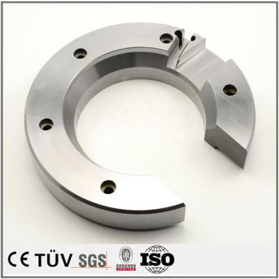 ステンレス、鉄、チタン、アルミ、銅、樹脂などで豊富な切削加工