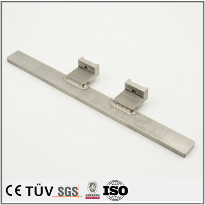 Dalian hongsheng provide high quality fusion welding service fabrication die-cutting machine parts
