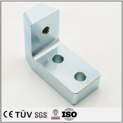 High precision zinc plating-blue white service fabrication processing parts