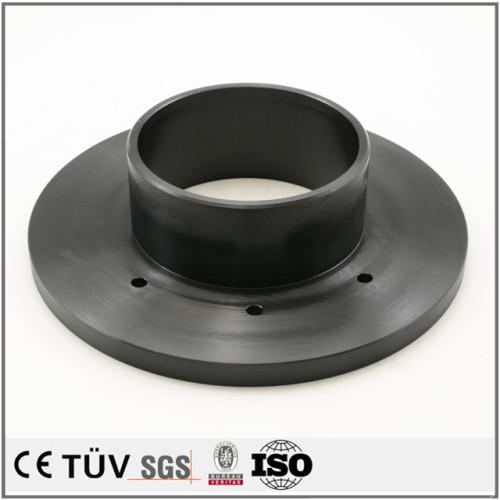 表面黒染処理 スチール系材 五軸複合加工機加工 焼き入れ/黒染 自動装置部品