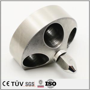 大連DMG高精密製品 電機用高精密SUS440焼入れ部品 マザック複合加工機高精密部品