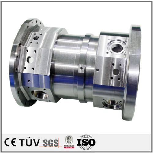 複合加工機で五面加工、 高品質DMG加工高端製品 鉄またステンレス部品 旋盤加工精密部品