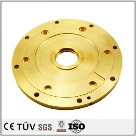 真鍮精密機械部品 CNC精密加工部品 SS400レーザー刻印