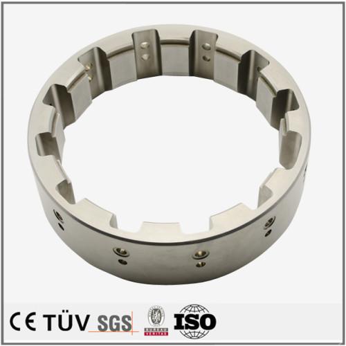 ワイヤーカット加工部品 NC旋盤加工した精密部品 包装機用SS400精密部品
