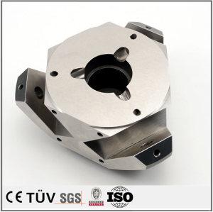 旋削/フライス加工 NC旋盤加工した精密部品 ユニクロメッキS45C 電機用の精密装置部品