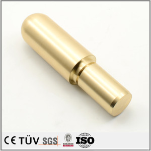 Customized copper precision turning service CNC machining colour press parts