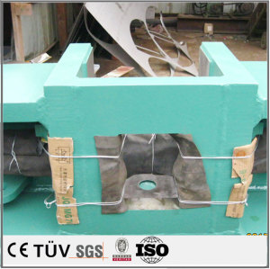 China spot welding machine parts welding fixture front fender sysmetrical welding plate parts