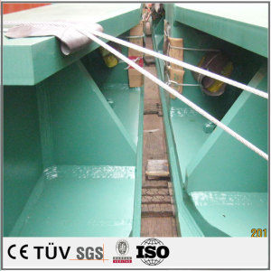 China power coating steel welding parts fabrication welding fixture front fender welding plate parts