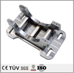 China CNC lathe turning parts welding fixture front fender sysmetrical parts welding plate parts