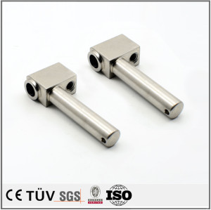 Customized stainless steel 316/304/303  aluminum CNC machining anodizing turning metal spare parts with milling