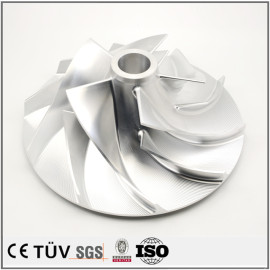 5 axis cnc machining and Oem custom CNC machining services precision  impeller parts