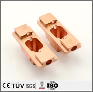 热销铜配件中国专业供应商定制OEM小型高精度CNC加工零件