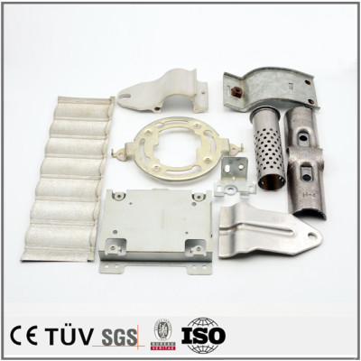 Stamped metal parts with high precision CNC stamping craftmanship