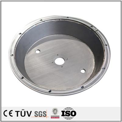 精密焊接件不锈钢材质、Q235材质、铝材质,焊后可机械精加工