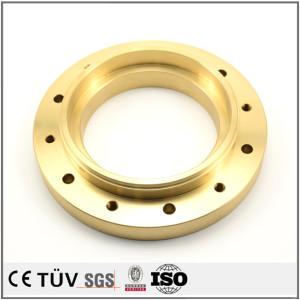 黄铜材料CNC数控车床加工 自动车床加工黄铜零件