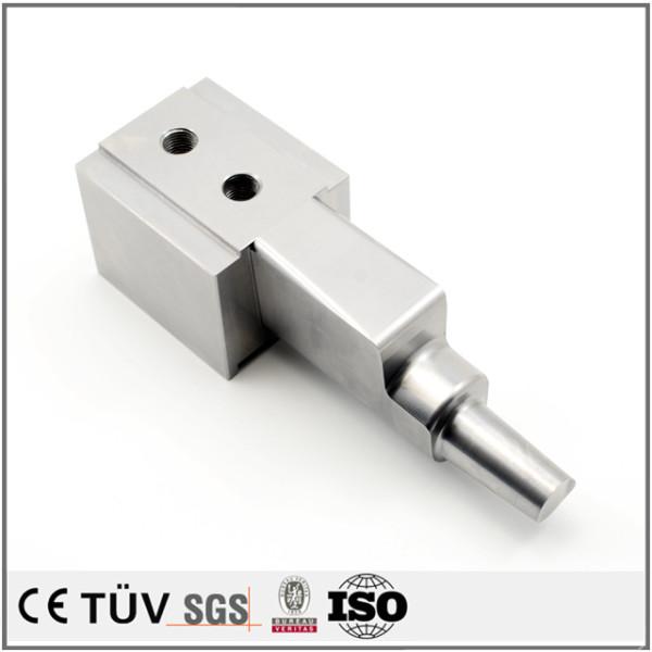 高精度DMG五轴加工中心加工不锈钢零件