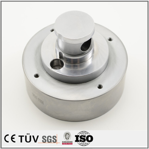 フラッシュクロムメッキ、鉄生地材部品 MC/ワイヤカット加工  硬度付け表面処理 摩耗対策