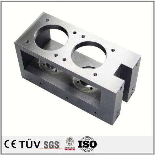 NC旋盤加工部品/ss400クロムメッキした部品/5軸CNC加工とSKD11焼入れした部品