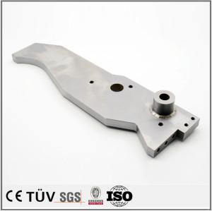 Advanced welding machine processing air compressor parts