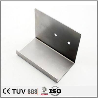 Custom steel fabrication metal frame sheet metal machining machine parts