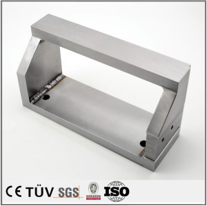Aluminum arc welding and mig welding gas fabrication parts