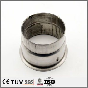 Metal laser cutting service machining stainless steel tube parts