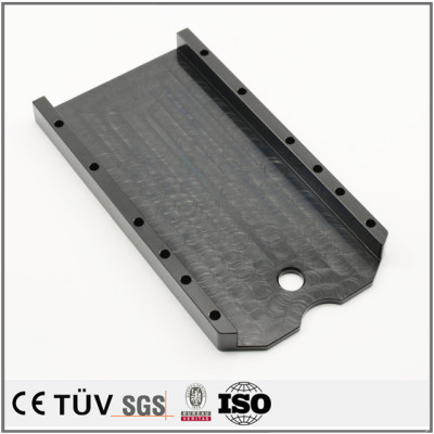 Popular customized machines parts with professional black oxide service