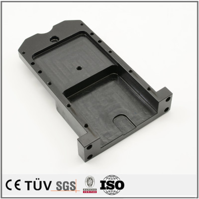 Customized black oxide fabrication process professional machines parts