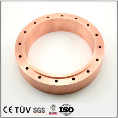 China CNC precision machining company precision manufacturing copper parts for machines