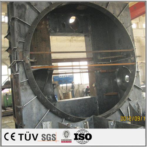 大物機械部品の溶接、加工、製造、組立