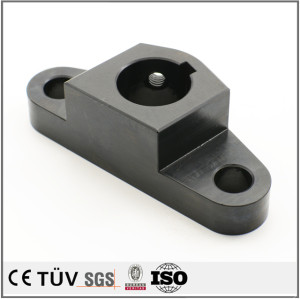 Made in China customized black oxide service machining high precision steel parts
