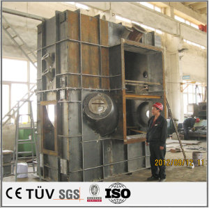 Large complex structural parts welding processing, welding structural parts finishing products