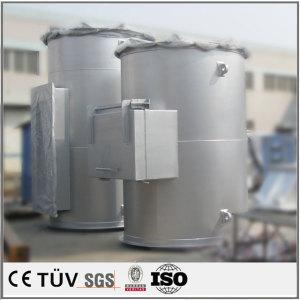 大型圧力容器の溶接加工