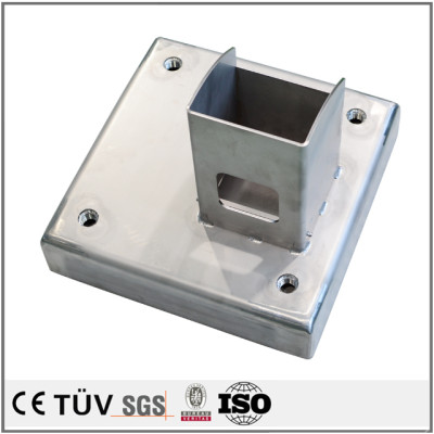 High quality welding service fabrication small sheet metal parts