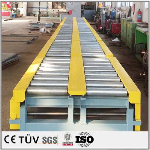 防腐塗料の表面処理コンベア溶接.大規模なコンベア設備の溶接加工、
