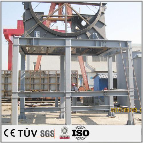 表面酸化、研磨の大型溶接部品