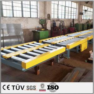 大型输送机设备的焊接加工、防腐油漆表面处理