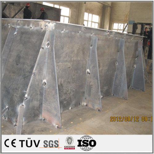 大型複雑構造部品の溶接加工、溶接構造部品の仕上げ