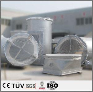 大型円管製品の溶接加工