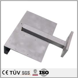 印刷設備用・精密な鉄製板金溶接部品