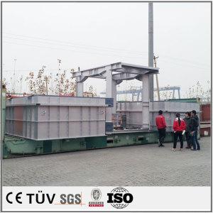 大型自動溶接 機械加工