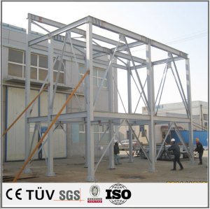 Large sheet metal welding processing, automatic equipment rack