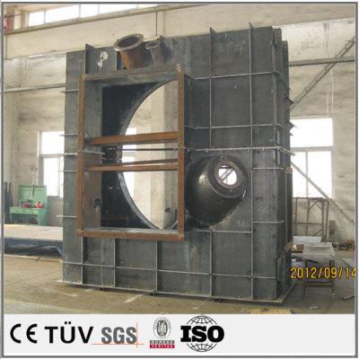 ステンレス大型構造部品の溶接  構造部品溶接 大型溶接部品