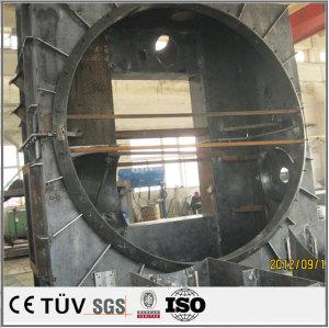 溶接部品加工アルゴンアーク溶接加工の大型ラック溶接 工作機械外装の板金加工設計