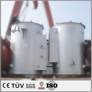 機械部品の大型溶接 旋盤 気体保護溶接 ラック溶接