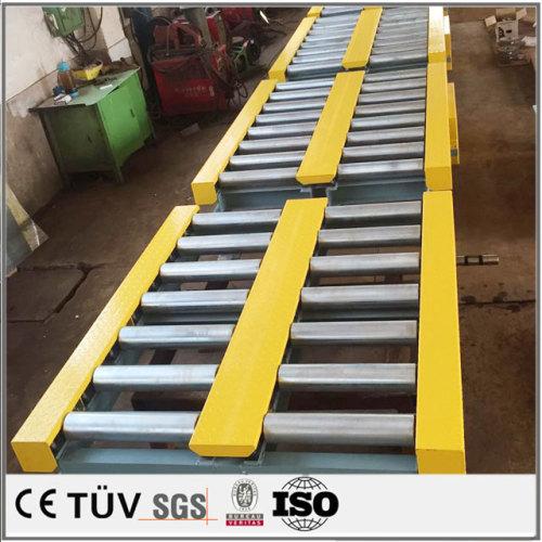 鉄 アルミ ステレンス大型溶接部品機械加工