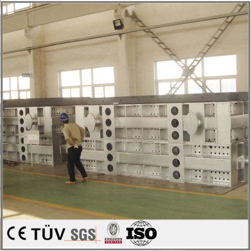 溶接板(溶接プラットフォーム)は筋板式と箱式