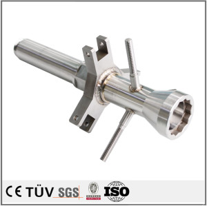 Precision manual metal-arc welding service process and working parts
