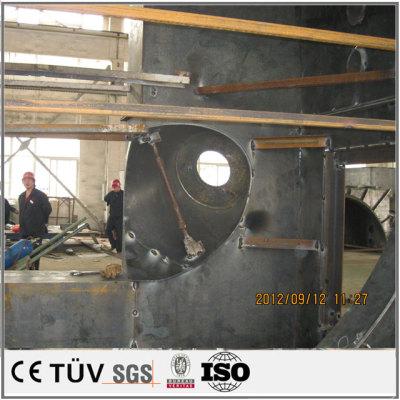 大型自動化箱の製作 アルゴンアーク溶接加工の大型ラック溶接 工作機械外装の板金加工設計